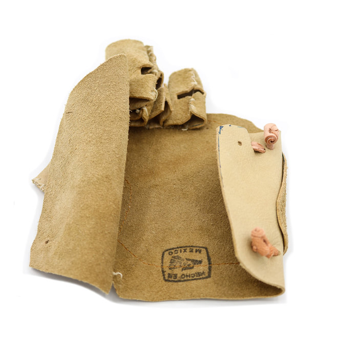 Manilla Charra Larga Natural (M) Brown Charro Glove Charreria