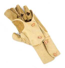 Manilla Charra Larga Natural (L) Brown Charro Glove Charreria