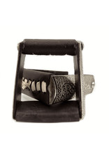 Estribos Charros Cafe Acero Inoxidable Stainless Steel Brown Stirrups