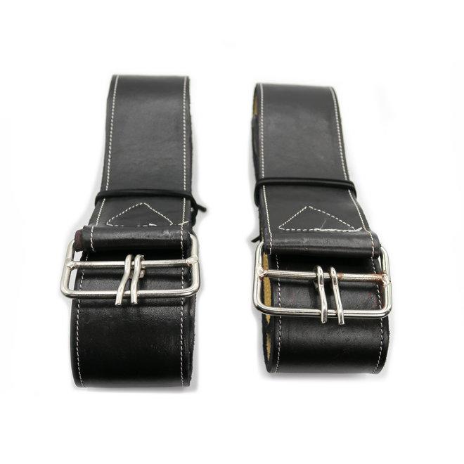 Charro Saddle Black Fenders (Arciones Para Montura Negros)