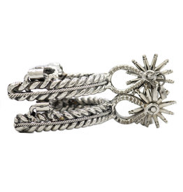 Espuela Doble Torsal Acero Inoxidable Stainless Steel  Mexican Spurs