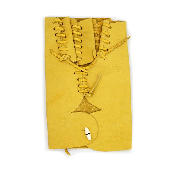Manilla Amarilla Corta De Piel (Small) Yellow Leather Glove