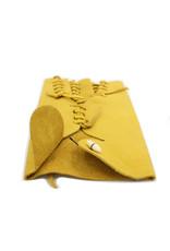 Manilla Amarilla Corta De Piel (Medium) Yellow Leather Glove
