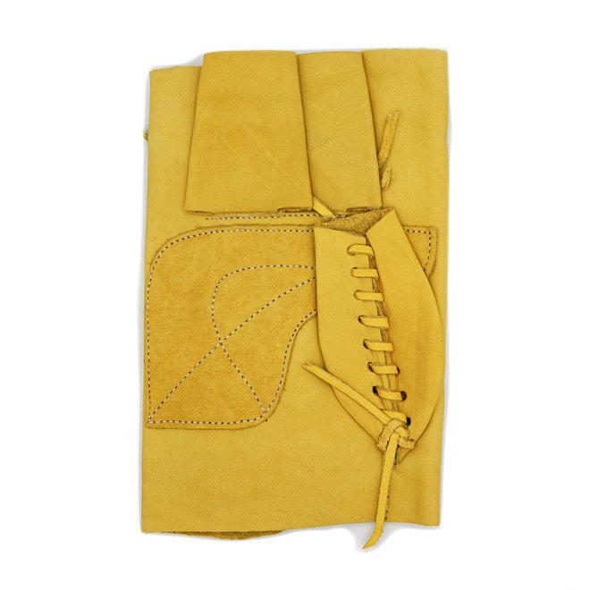 Manilla Amarilla Corta De Piel (Large) Yellow Leather Glove