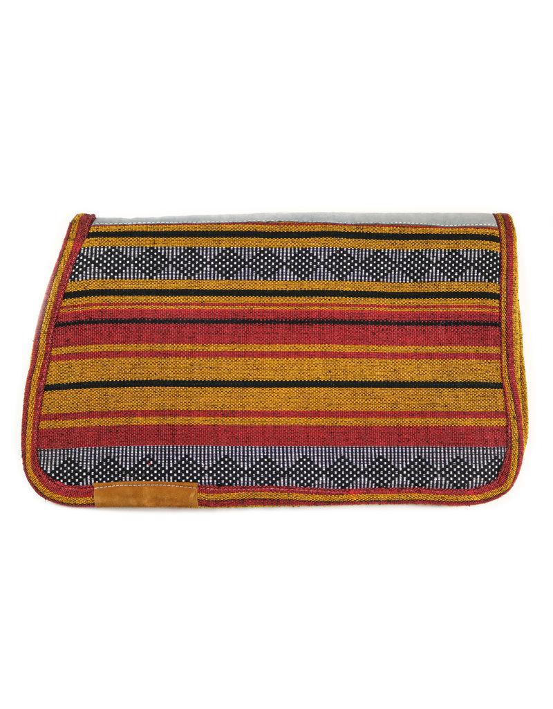 Carona Charra Algodon Amarilla Yellow Horse Saddle Pad Cotton