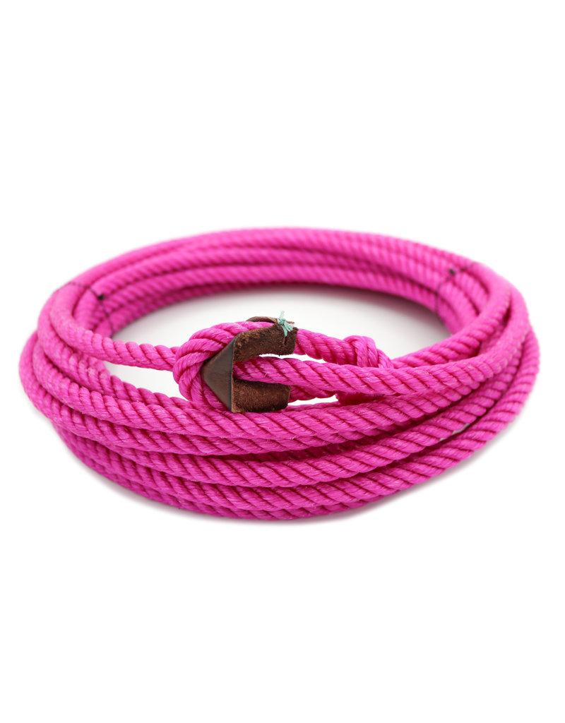 39 ft Rosa Magenta Pink Soga Para Florear Trick Rope