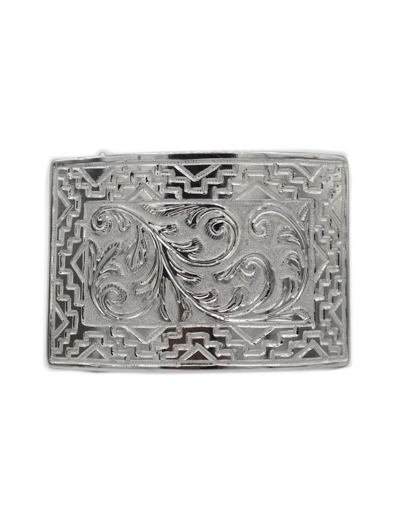 Engraved Belt Buckle Hebilla Charro
