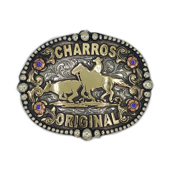 """Charros Original Hebilla Fina """"Coleador"""""""