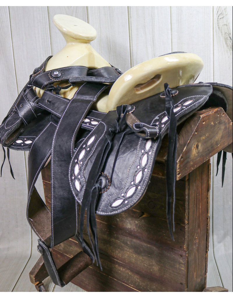 "15"" Montura  Economical Charra Charro  Saddle Cola De Pato"