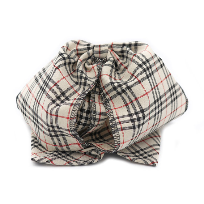 Moño Charro Diseño Lineas Crema Charreria Bow Tie