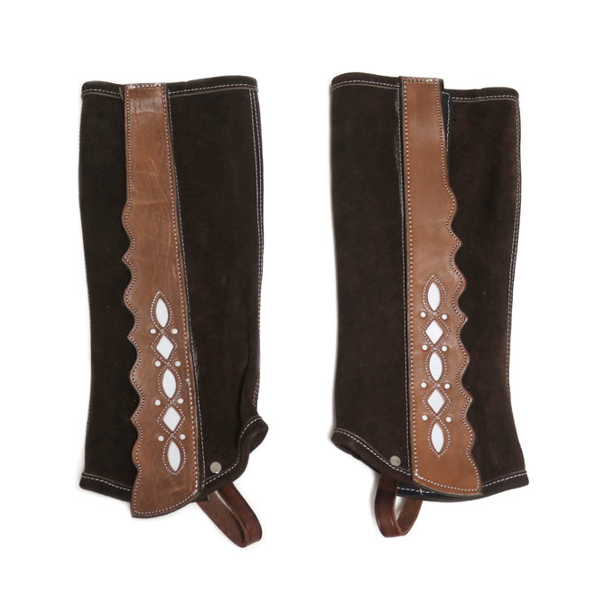 Polainas Half Chaps Charros (M) Dark Brown