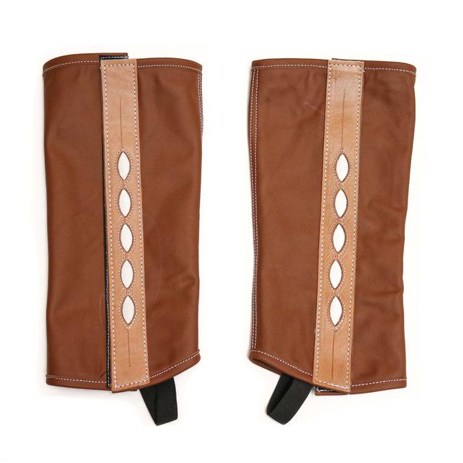 Polainas Charras Diseno Ovalo Leather Chaps (L)