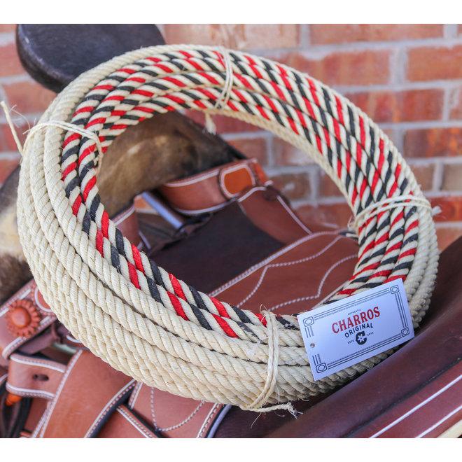 R/B 68 Ft. Charro Rope Ixtle Soga de Maguey Cowboy Lasso
