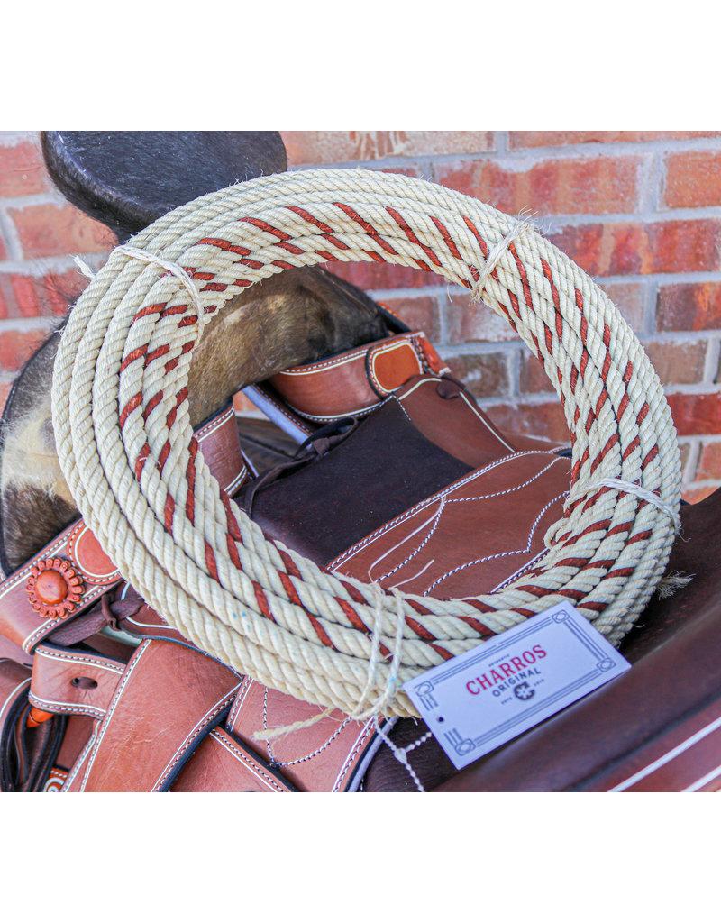 Brown  68FT. Charro Ixtle Maguey Soga Rope Lasso