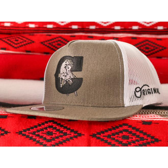 """Brown Heather """"Caballo"""" Charros Original Cap Cachucha"""