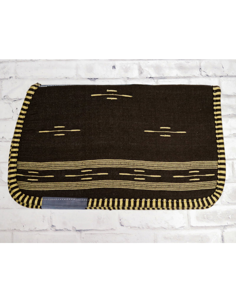 Cafe Carona Charra Algodon Brown Cotton Saddle Pad