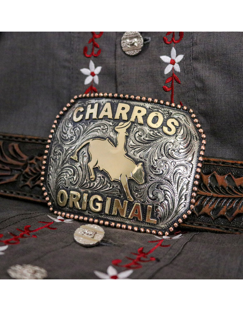 Charros Original Hebilla Charra Custom Handmade Buckle