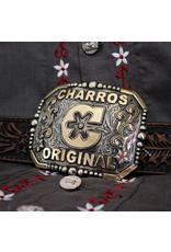 "Charro Belt Buckle ""C"" Charros Original Hebilla"