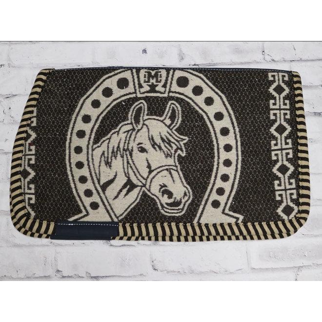 Brown Charro Saddle Horse Pad Carona Charra