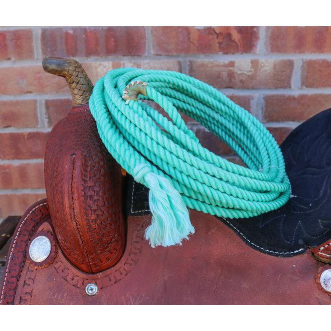 30 FT Aqua Western Adult Lasso Rope Rodeo