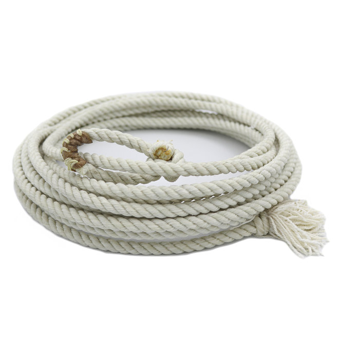 30 FT Western Adult Lasso Rope Rodeo Lariat Roping Gear