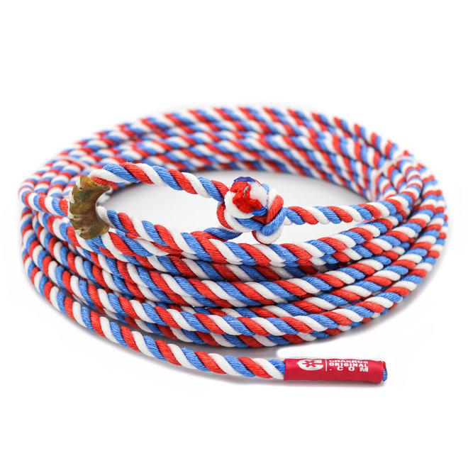 60 FT. TRI Poly-Nylon Lariat Rope Plomo Soga