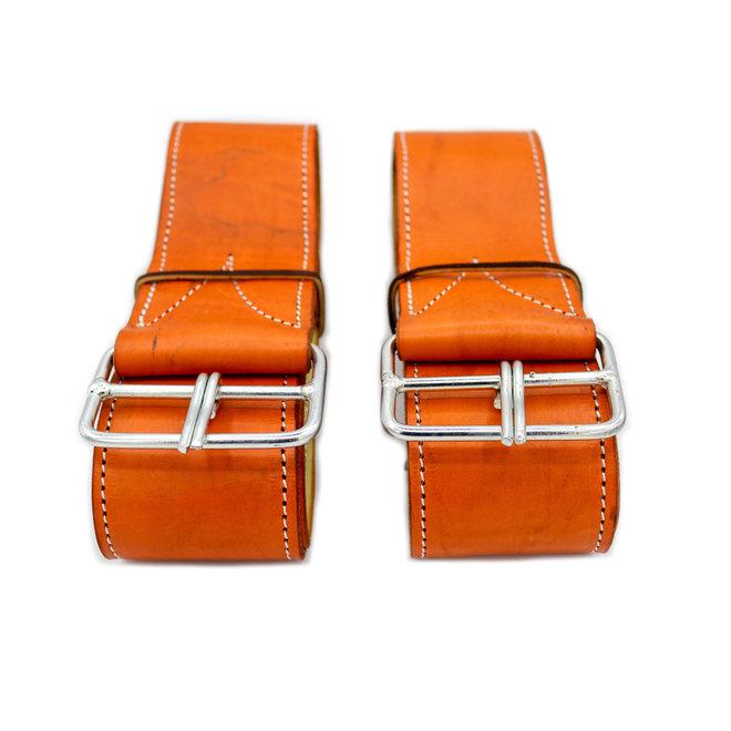 Charro Saddle Orange Fenders (Arciones Para Montura)