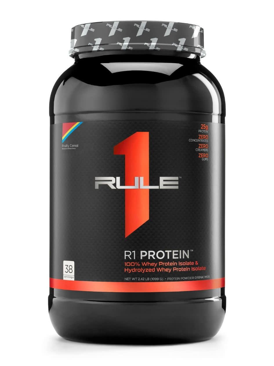 Rule 1 Rule 1 Protein Isolate / Hydrolysate 38 Serv.