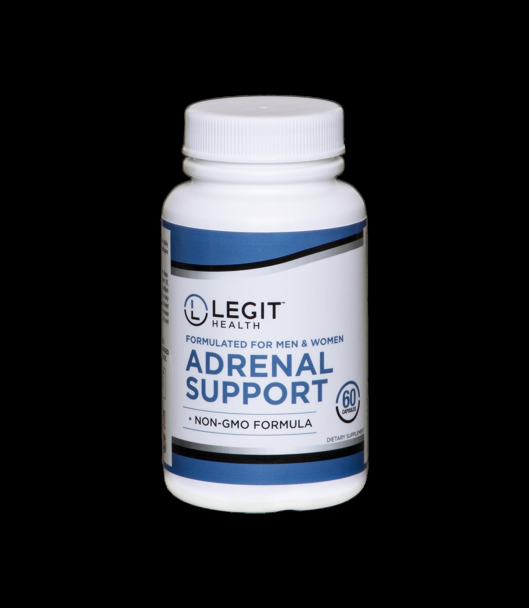 Legit Adrenal Support 60ct.
