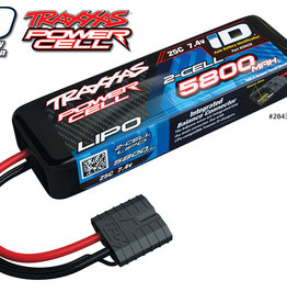Traxxas Traxxas LiPo Battery: 2S, 5800mAh, 25C, TraID