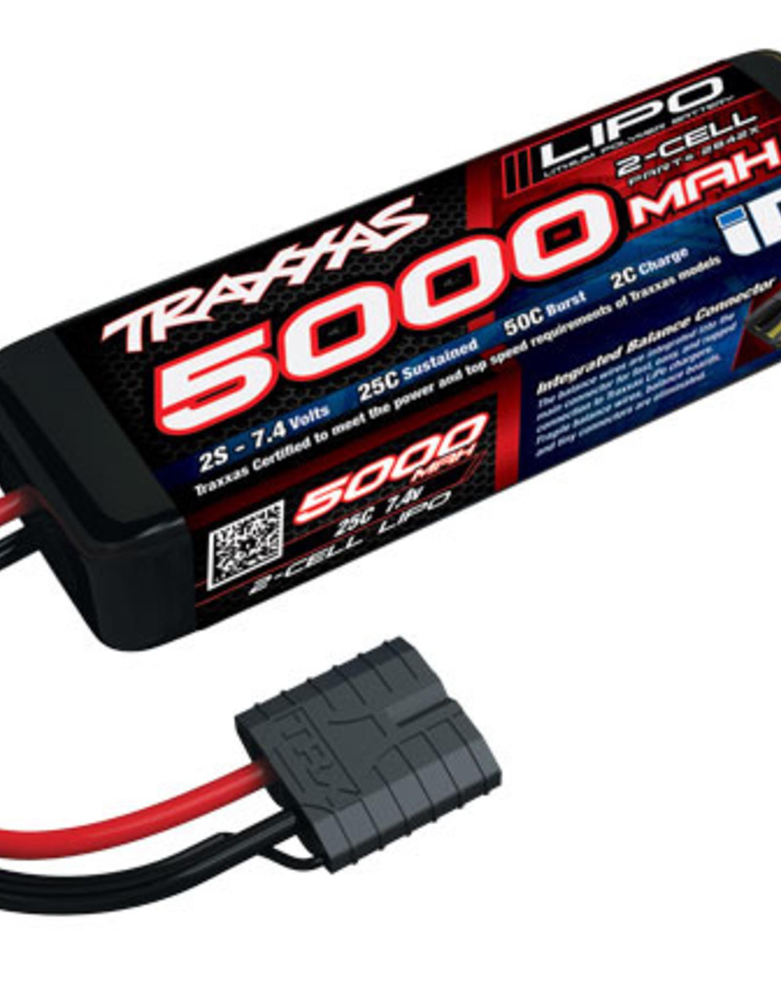 Traxxas Traxxas LiPo Battery: 2S, 5000mAh, 25C,SHORT