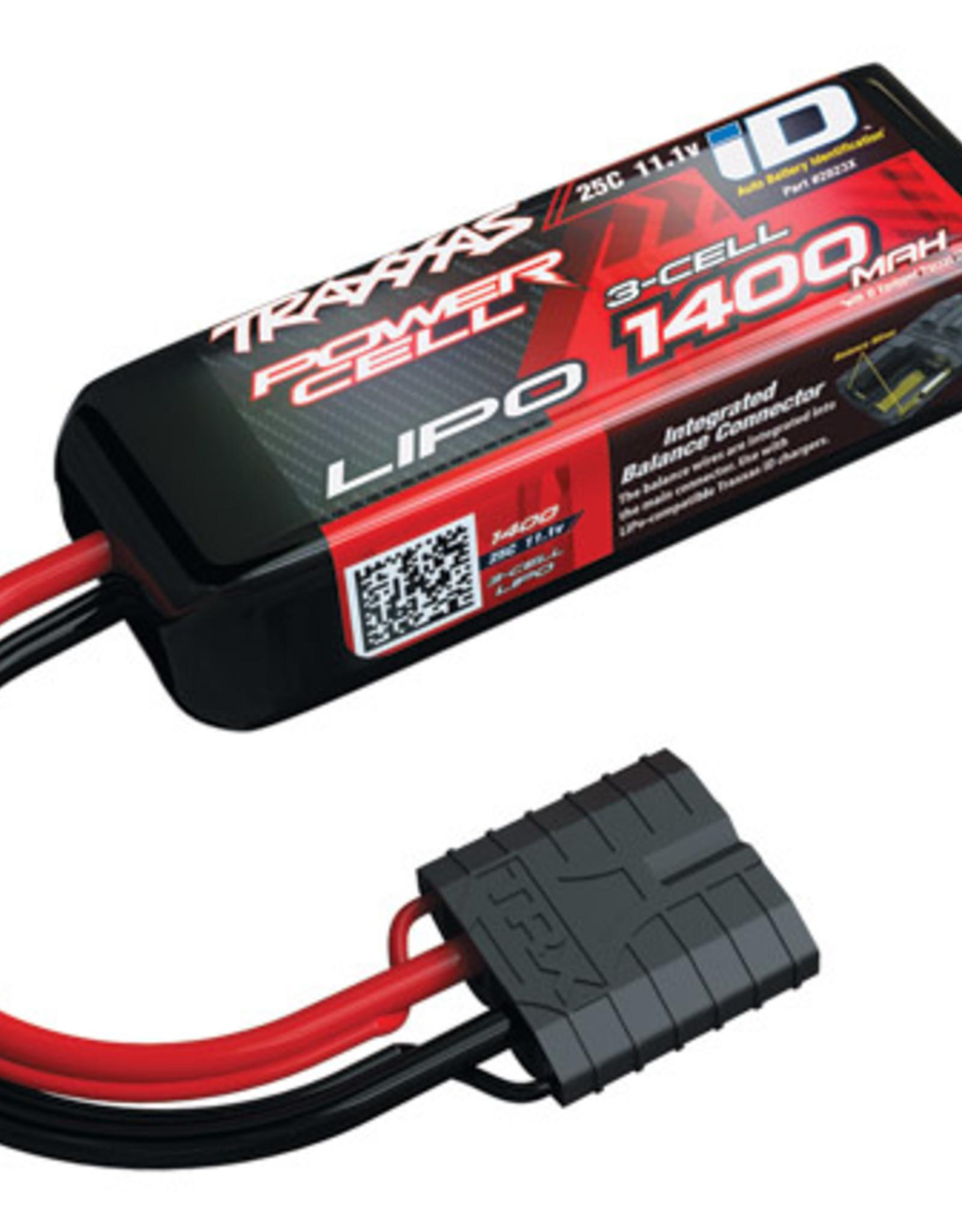 Traxxas Traxxas LiPo Battery: 3S, 1400mAh, 25C, TraID