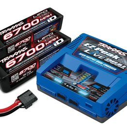 Traxxas Traxxas 6700 4S Dual Charger Completer Combo Pack