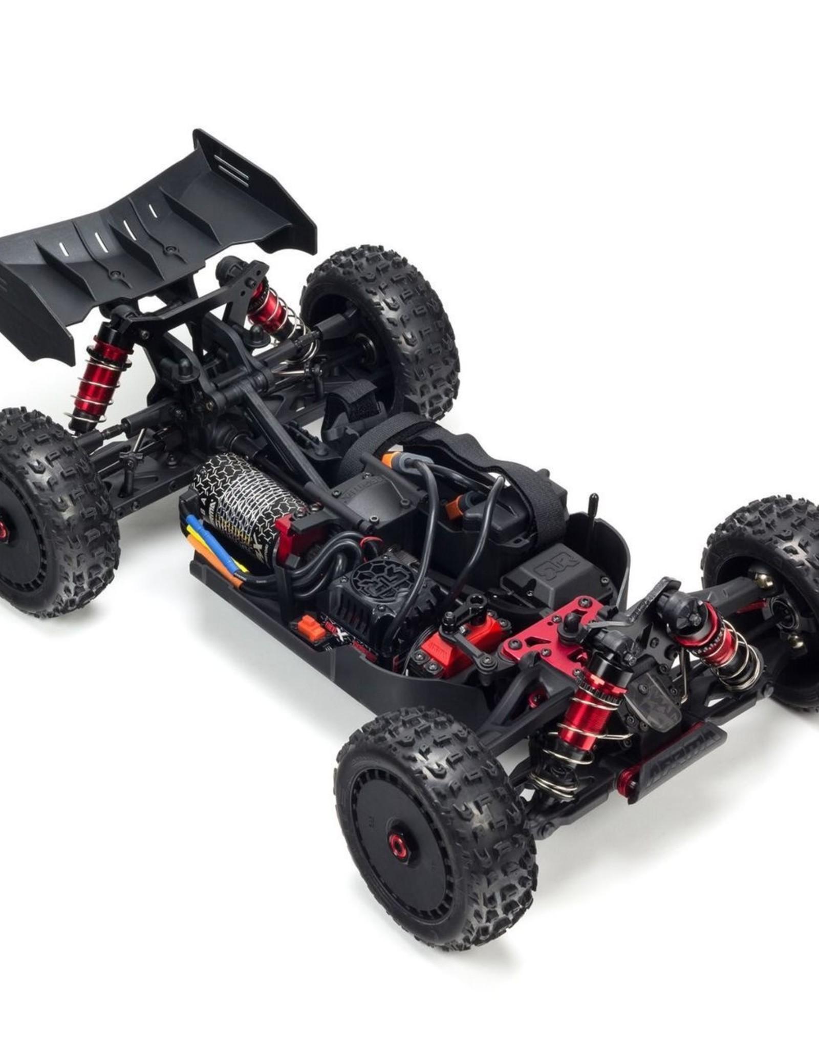 Arrma Arrma Typhon 6S BLX 4WD Red/Grey