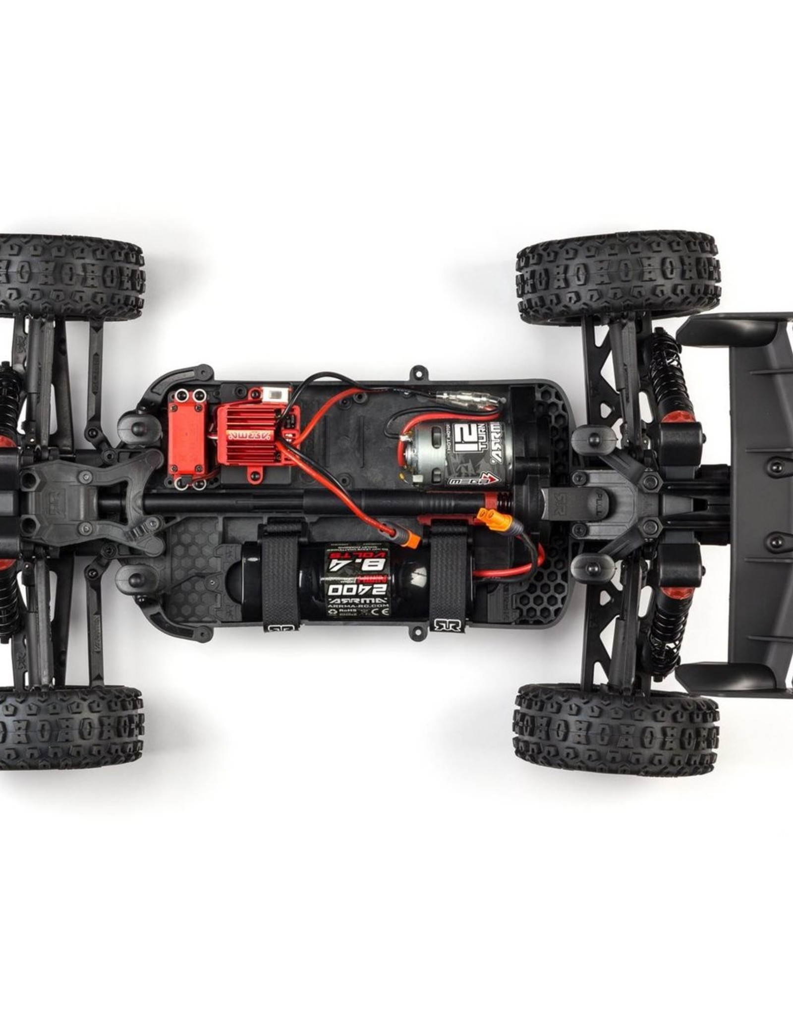Arrma Arrma TYPHON 1/8-scale 550 Brushed 4X4 GRN