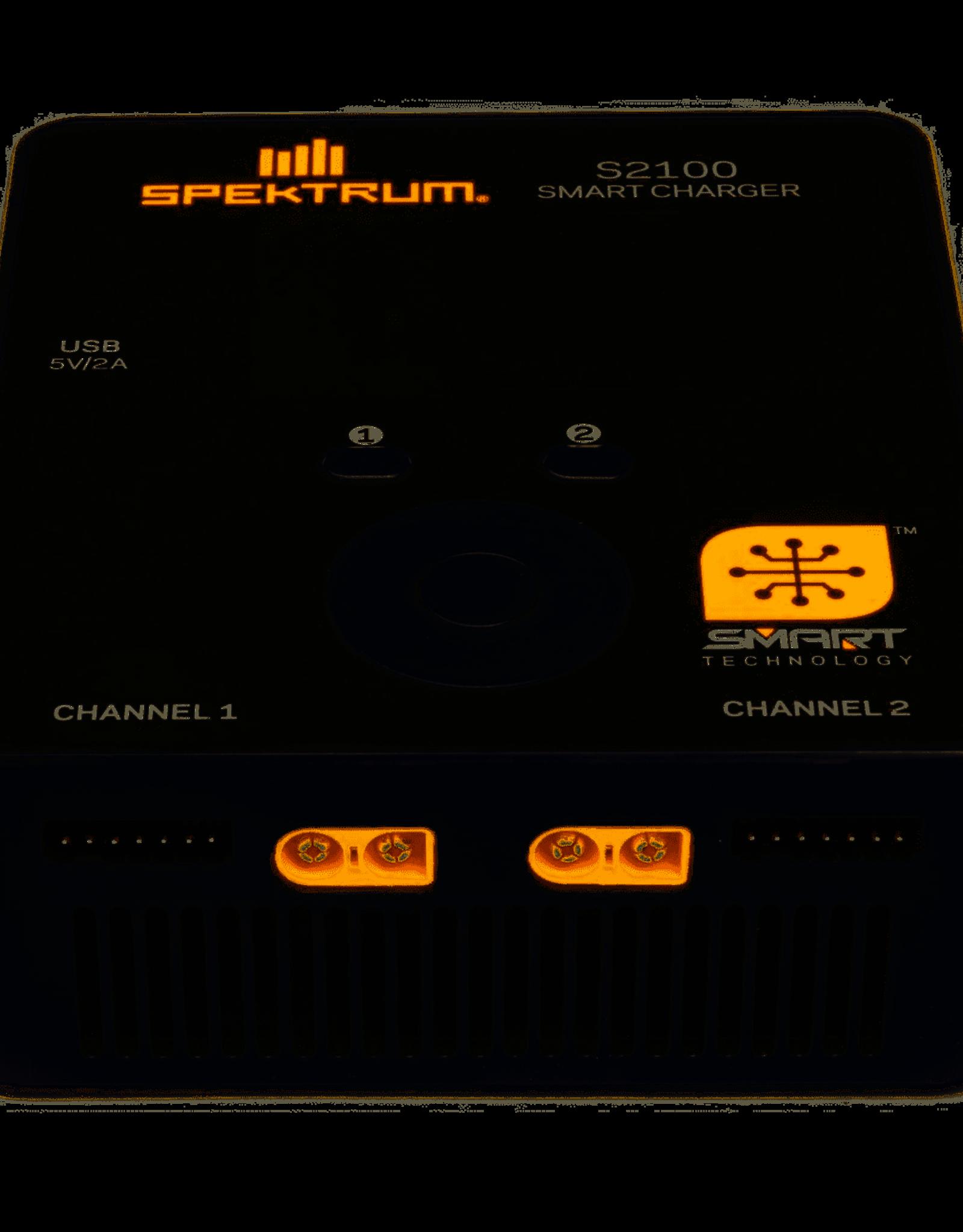 Spektrum Smart S2100 AC Charger, 2X100W