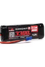 Dynamite 7.2V 3300mAh 6-Cell Speedpack2 Flat NiMH Battery: EC3 (DYNB2070EC)