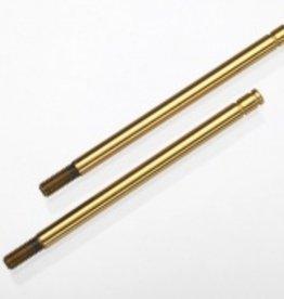 Traxxas Traxxas Shock shafts, hardened steel, titanium nitride coated (long) (2) TRA1664T