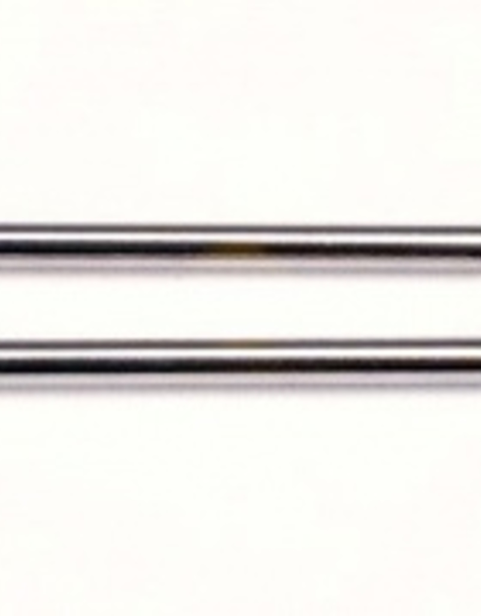 Traxxas Shock shafts, steel, chrome finish (long) (2)