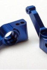 Traxxas Carriers, stub axle (blue-anodized 6061-T6 aluminum) (rear) (2)