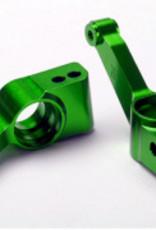 Traxxas Traxxas  Carriers, stub axle (green-anodized 6061-T6 aluminum) (rear) (2) TRA1952G