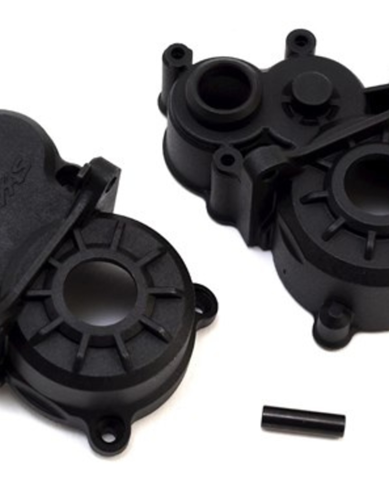 Traxxas Traxxas E-Revo 2.0 Gearbox halves (front & rear)/ idler gear shaft