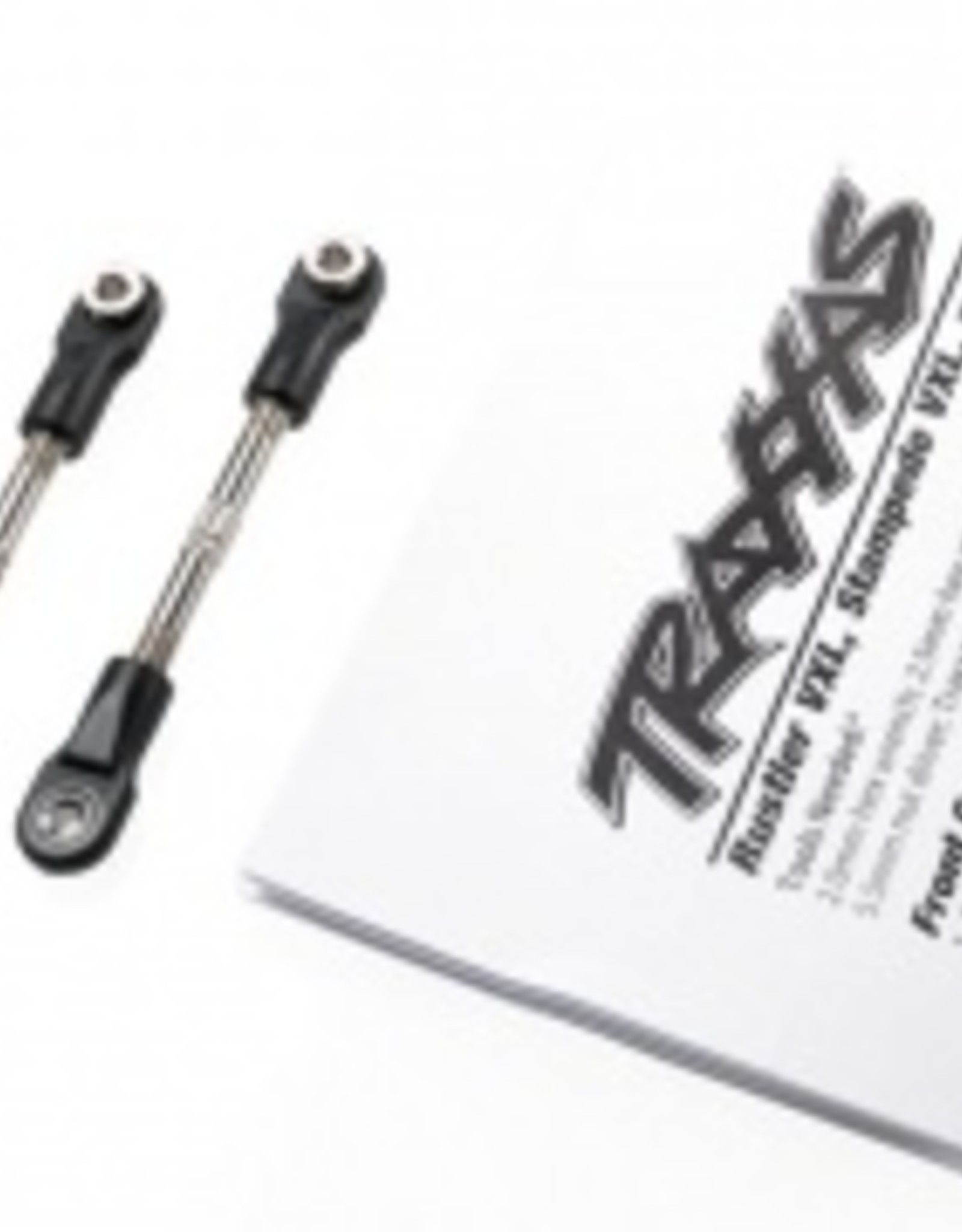 Traxxas Traxxas Bandit/Vxl Turnbuckles, camber link, 47mm (67mm center to center) (front) (assembled with rod ends and hollow balls) (1 left, 1 right)