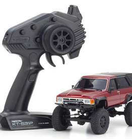 Kyosho Kyosho 32522MR Mini-Z 4X4 Toyota 4 Runner (HiLux Surf) Metallic Red Ready Set