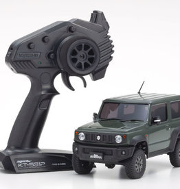 Kyosho Kyosho 32523GR Mini-Z 4X4 Suzuki Jimny Sierra Jungle Green Ready Set