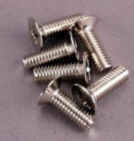 Traxxas Traxxas Screws,4 x 12mm Steel,100Deg