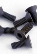 Traxxas Traxxas Screws, 3x8mm countersunk machine (6) (hex drive)