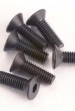 Traxxas Traxxas Screws, 3 x 10mm Countersunk(6