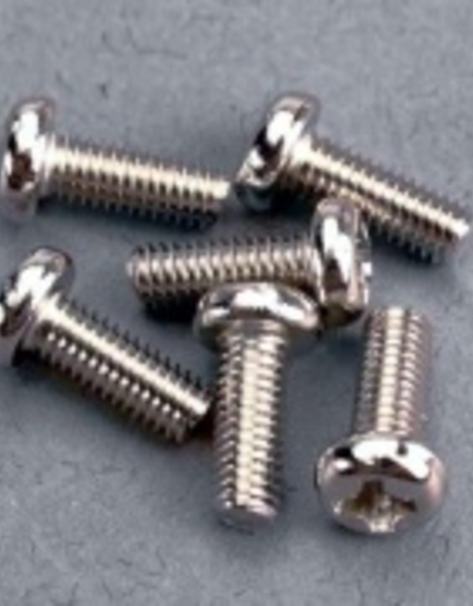 Traxxas Traxxas Screws,3x8mm Roundhead,Machine