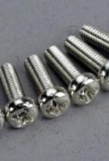 Traxxas Traxxas Screws,3 x 10mm,Roundhead(6)